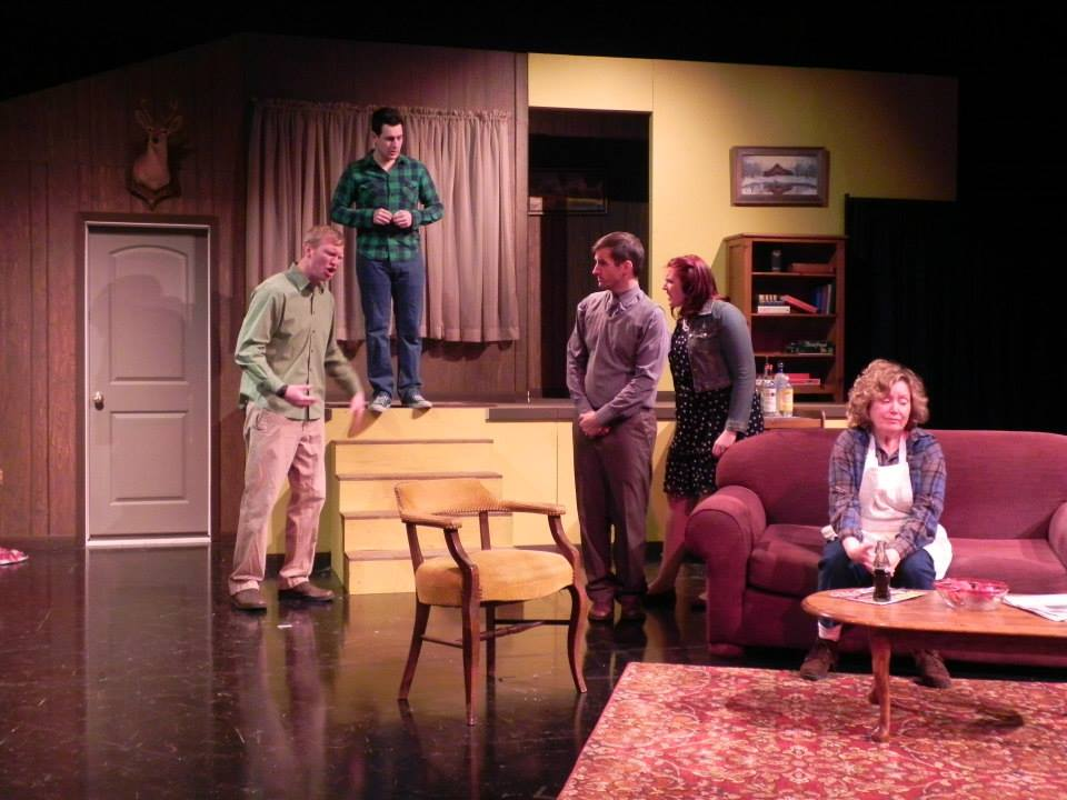 Scene from The Foreigner--Black Box Theater