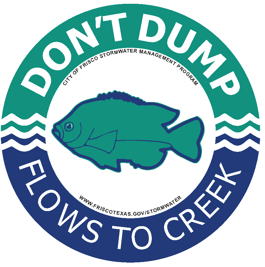 Don't Dump - Flows to Creek
