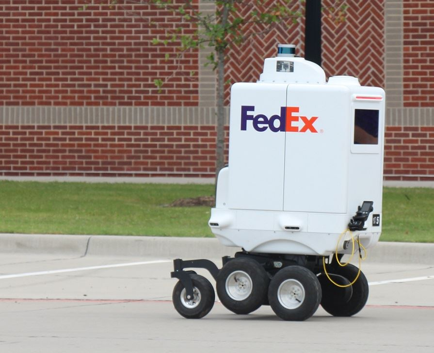 FED EX Delivery Robot