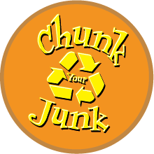 Chunk Your Junk Logo