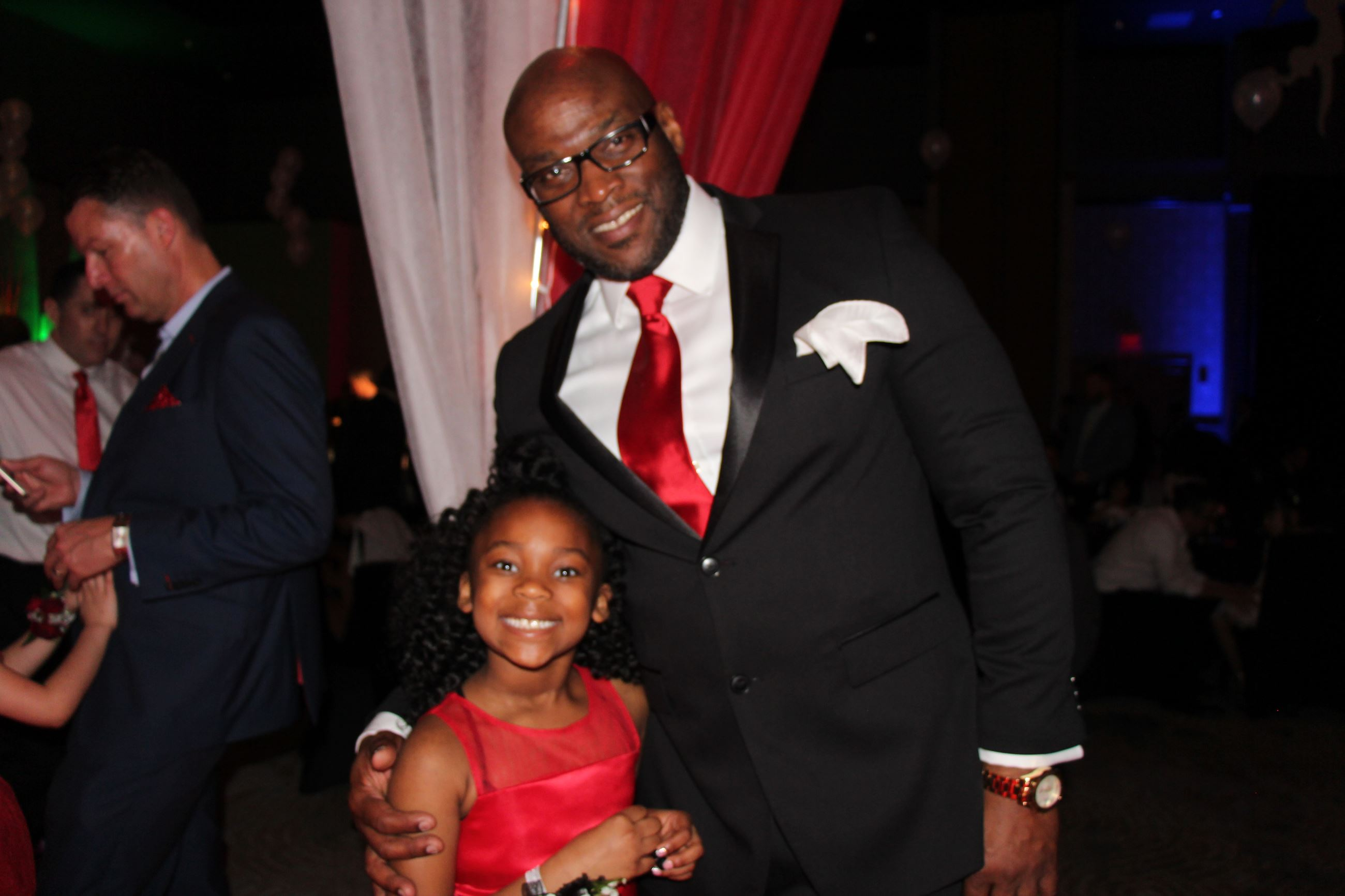 Father and Daughter at 2019 Daddy Daughter Dance