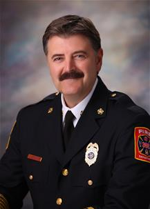 Fire Chief Mark Piland